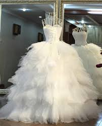 feather wedding dress 2016 high end diamond feather with slim waist touch floor