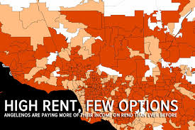 high rent few options rising rents and short supply have