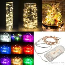 20 led micro lights battery operated 2m 20led fairy lights 20 led micro starry light cr2032 button