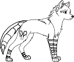 anime wolf coloring pages fleasondogs org