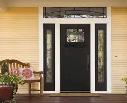fiberglass front doors with glass masonite elements glass craftsman style doors pinterest