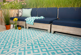 Teal Outdoor Rug Blue White Large Plastic Outdoor Rug All About Rugs