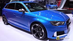 audi rs3 blue 2016 audi rs3 exterior and interior walkaround 2015