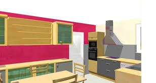 cuisine framboise cuisine couleur framboise excellent chaises cuisine couleur