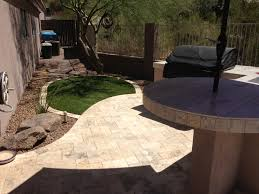 multi levels create this phoenix landscape design