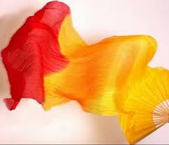 silk fans veils mellaya veils belly silk veils