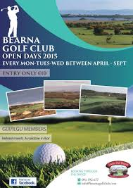 open days in bearna bearna golf club