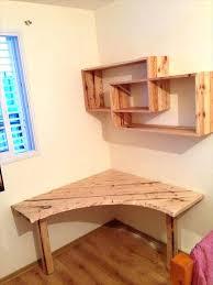 desk corner desk with shelves on either side small corner desk