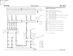 trailer circuit diagram club touareg forums