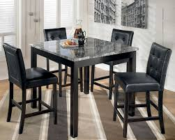 High Kitchen Table Sets by Fantastic Tall Dining Table Set With Kitchen Dining Room Tall
