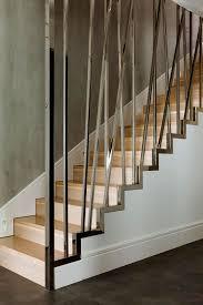 gelã nder design schwarte stahltreppe ohne gitterroststufen treppen