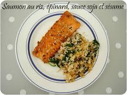 comment cuisiner des epinards saumon au riz et épinard à l asiatique un peu de rêve dans ma cuisine