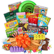 best easter basket easter candy toys basket by gourmetgiftbaskets