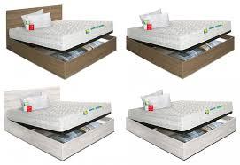 rete e materasso matrimoniale offerte offerta letto armadio contenitore e materasso eminflex