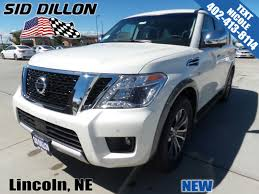 nissan armada top speed new 2017 nissan armada sl suv in lincoln 4n17995 sid dillon