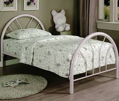 white metal twin bed frame webcapture info