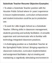 Substitute Teaching On Resume Teacher Resume Sample 28 Free Word Pdf Documents Download