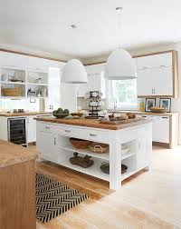 kitchen island wood top discover our brightest kitchen lighting ideas modern traditional