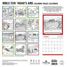 noah u0027s ark coloring pages 2016 wall calendar 9781631161490