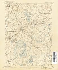 Western Massachusetts Map by