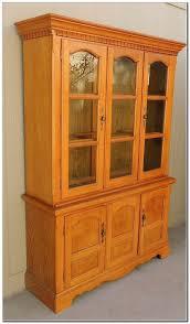 solid oak china cabinet solid oak china hutch for sale willdrost