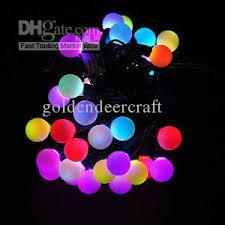 christmas wedding xmas outdoor 100 led string lights rgb balls