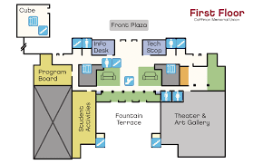 cmu floor plans coffman memorial union student unions activities