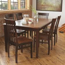 dining room table solid wood l j gascho furniture solid wood dining sets 7 piece dining set