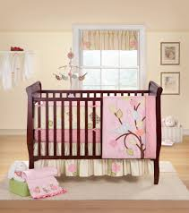 dazzling baby room design ideas with espresso stained wooden cute baby nursery large size baby beds lovely pink travel crib stores online girl bedroom modern