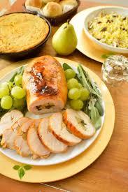 thanksgiving stuffed spinach apples u0026 bacon stuffed turkey breast