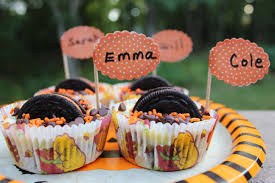 oreo and mini chocolate chip halloween cheesecakes your party