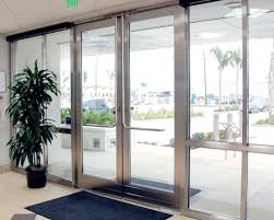 Metal Glass Door by Crl Arch Blumcraft Panic Devices And Access Control Handles