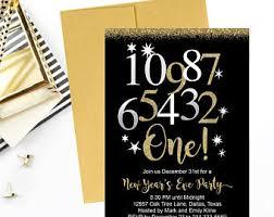 new years wedding invitations new years wedding invitation etsy