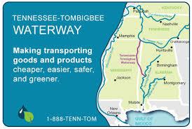 tombigbee waterway map tennessee tombigbee waterway inland shipping transportation
