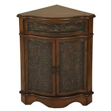 walnut corner cabinet passport by mario cabinets accent cabinets