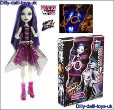 monster high doll halloween monster high spectra vondergeist doll ghouls alive series light up