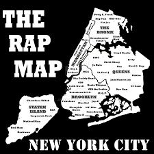 Uaa Map The Rap Map New York City Edition By Jayebz On Deviantart