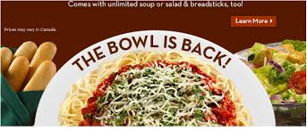 Olive Garden Never Ending Pasta Bowl Is Back - never ending pasta bowl is back at olive garden for 9 95