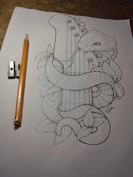 25 beautiful snake drawing ideas on pinterest snake sketch