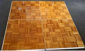 3x3 indoor parquet floor