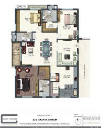 floor plan shanta sriram constructions pvt ltd blue birds