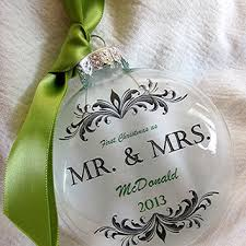 mr u0026 mrs custom first christmas wedding from rychei on etsy