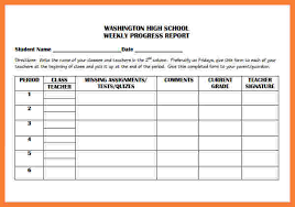 it progress report template 5 weekly progress report template elementary progress report
