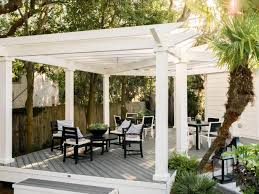 How To Build A Covered Pergola by Pergola Designs U0026 How To Build A Pergola Hgtv