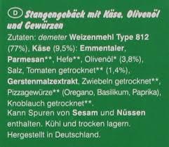 Kaufen Hauser Erdmann Hauser Bio Pizza Grissini Stangengebäck 100g Online