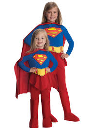 Superhero Halloween Costumes Girls Child Supergirl Costume