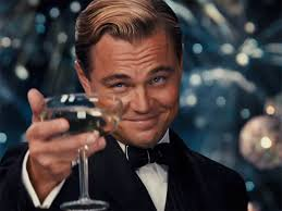 martini meme cheers let u0027s toast leonardo dicaprio again and again and again