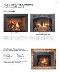 616 616df gas insert lopi jerry u0027s fireplaces