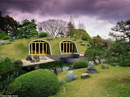 hobbit home interior hobbit holes by green magic homes are ready made and come with a