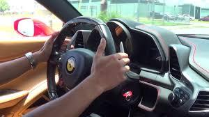 italia 458 interior 458 italia engine start up drive acceleration exterior